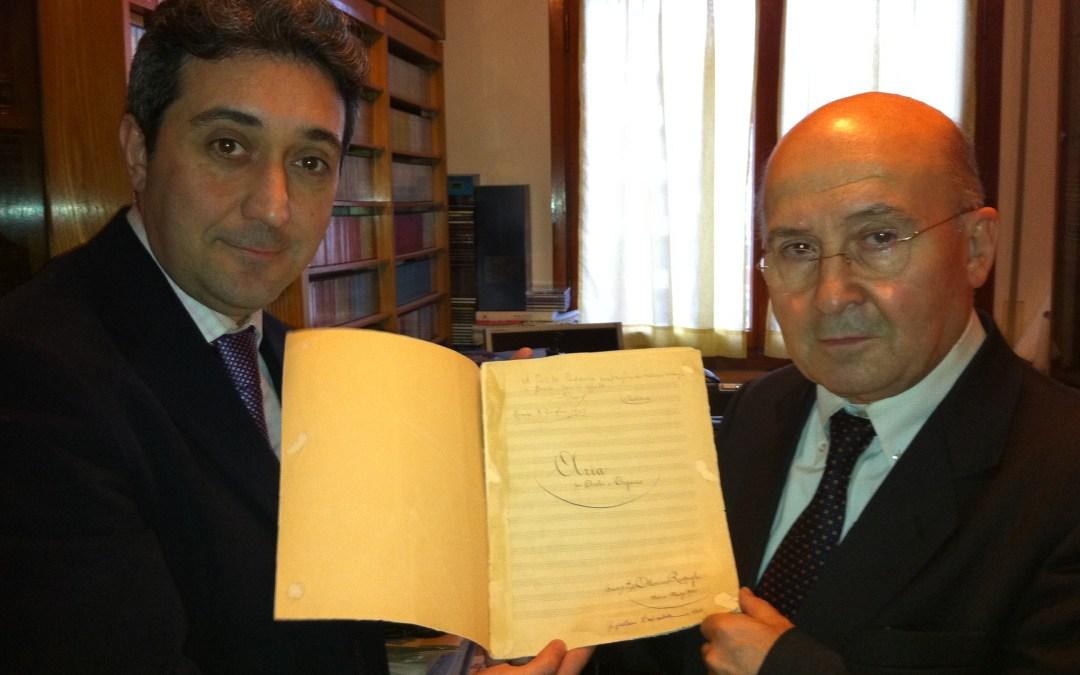 Maestro Di Vittorio Remembers Respighi Scholar Potito Pedarra